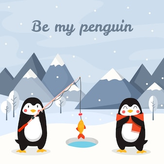 Seja meu pinguim