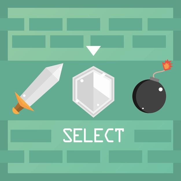 Seleção de videogame