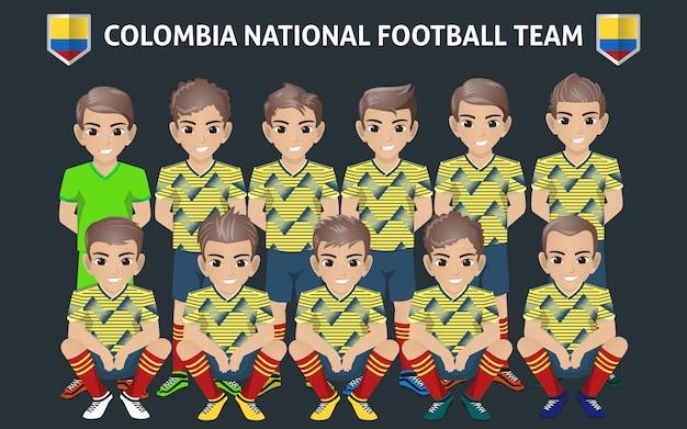 Seleção nacional de futebol da colômbia