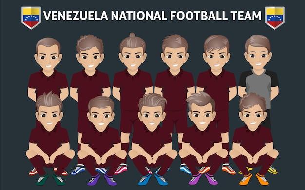 Seleção nacional de futebol da venezuela