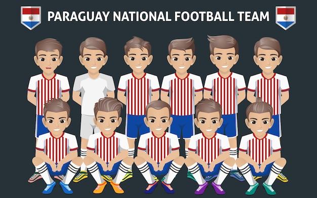 Seleção nacional de futebol do paraguai