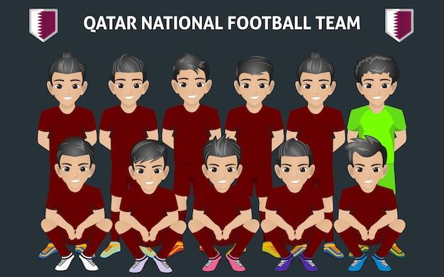Seleção nacional de futebol do qatar
