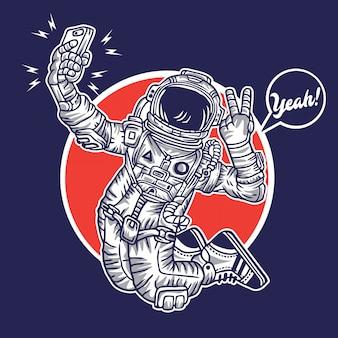Selfie do espaço