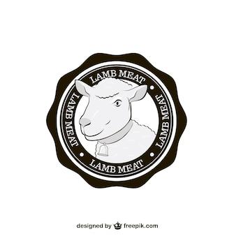 Selo de carne de cordeiro
