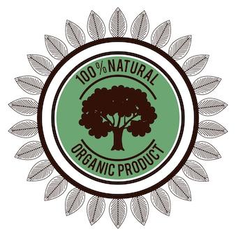 Selo garantido de produto orgânico