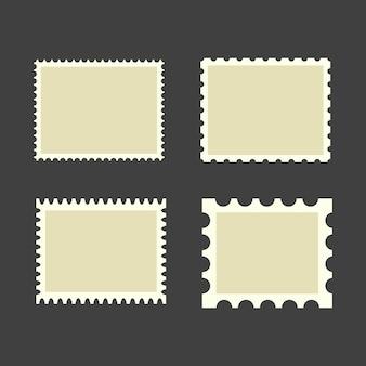Selos postais em branco