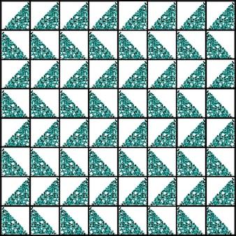 Sem costura de fundo de forma de glitter do triângulo