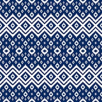 Sem costura geométrica étnica oriental asiática e design de padrão de tradição para textura e bachground. decoração de padrão de seda e tecido para carpetes, roupas, embalagens e papel de parede
