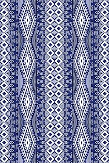 Sem costura geométrica étnica oriental asiática e design de padrão de tradição para textura e plano de fundo. decoração de padrão de seda e tecido para carpetes, roupas, embalagens e papel de parede