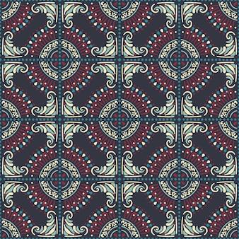 Sem costura padrão árabe