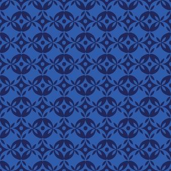 Sem costura padrão floral abstrato. gráfico de vetor moderno.