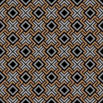 Sem costura padrão geométrico em estilo celta