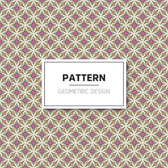 Sem costura padrão geométrico