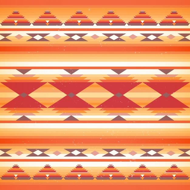 Sem costura padrão nativo americano.