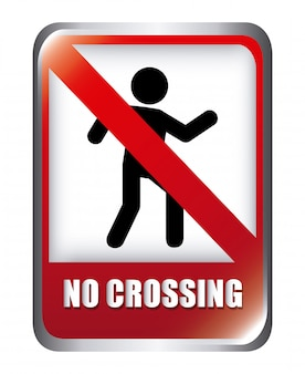 Sem design de cruzamento