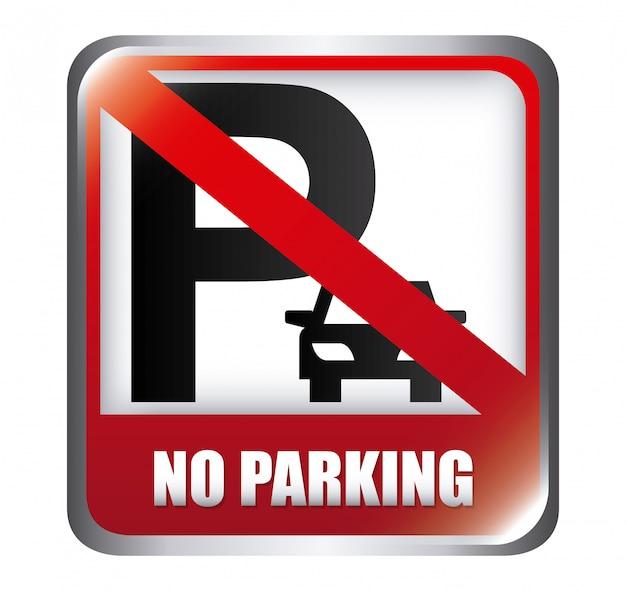 Sem design de estacionamento