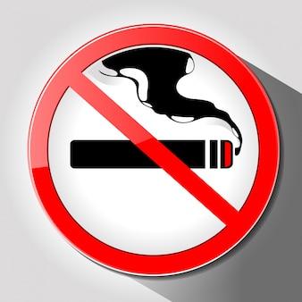 Sem vetor de fumaça