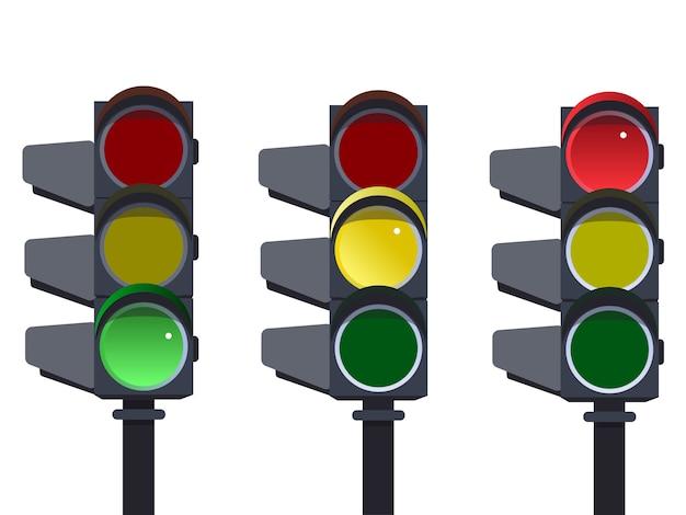 Semáforo, sequência de semáforos.