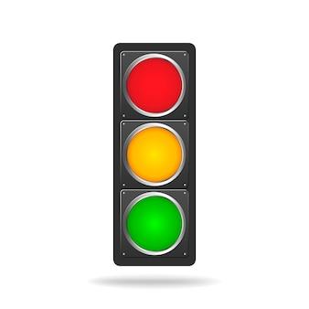 Semáforos - ilustração vetorial.