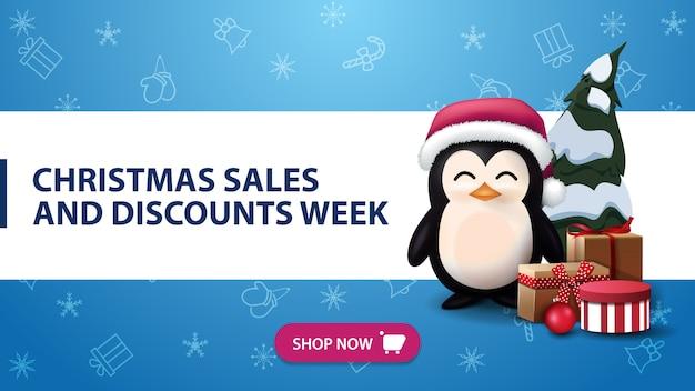 Semana de vendas e descontos de natal
