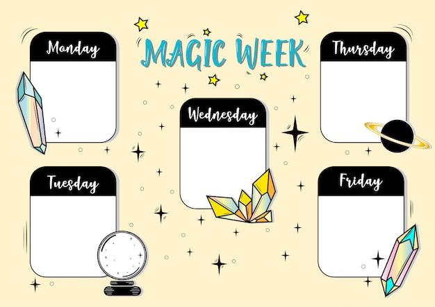 Semana mágica