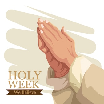 Semana santa tradição católica
