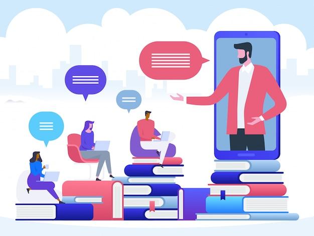 Seminário on-line ou em vídeo
