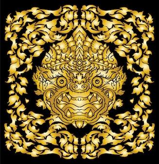 Senhor hanuman rei do macaco