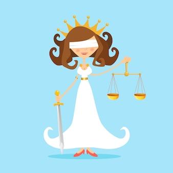 Senhora justiça