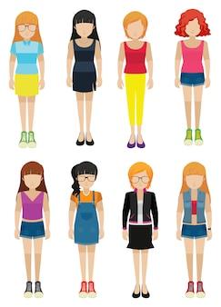 Senhoras sem rosto