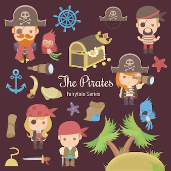 Série de conto de fadas os piratas