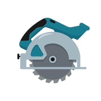 Serra circular com disco dentado de aço ferramenta elétrica manual para cortar madeira ou metal