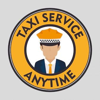 Serviço ao cliente de táxi