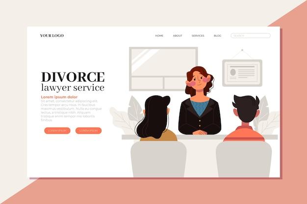 Serviço de advogado de divórcio