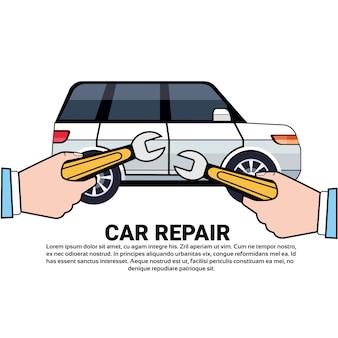 Serviço de carro e reparação