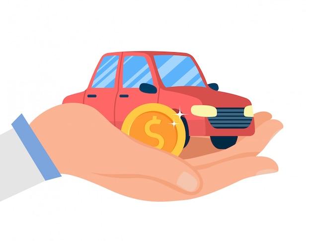 Serviço de concessionária de carros