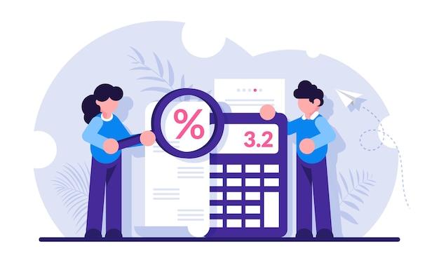 Serviço de contabilidade e auditoria para negócios, planejamento orçamentário, cálculo de receita