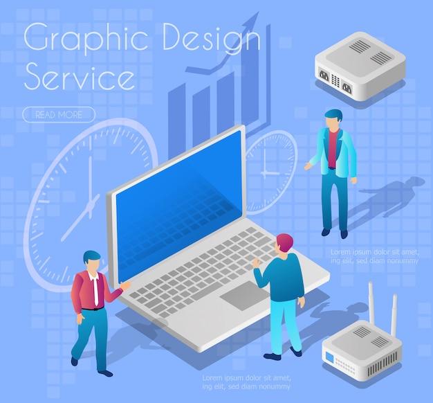Serviço de design gráfico