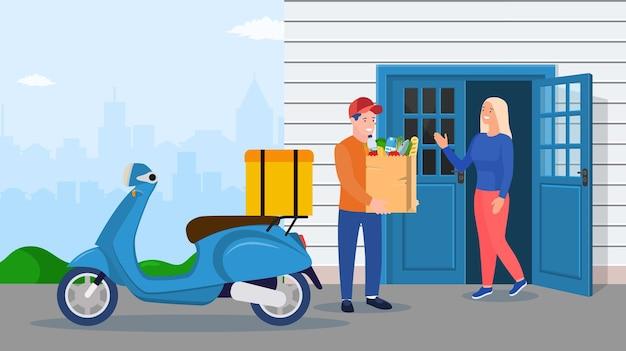 Serviço de entrega de caracteres de correio.