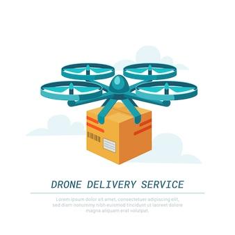 Serviço de entrega de drones