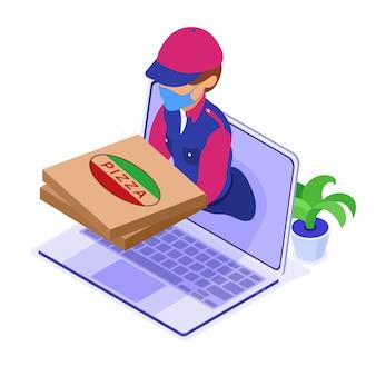 Serviço de entrega de pedidos de comida on-line