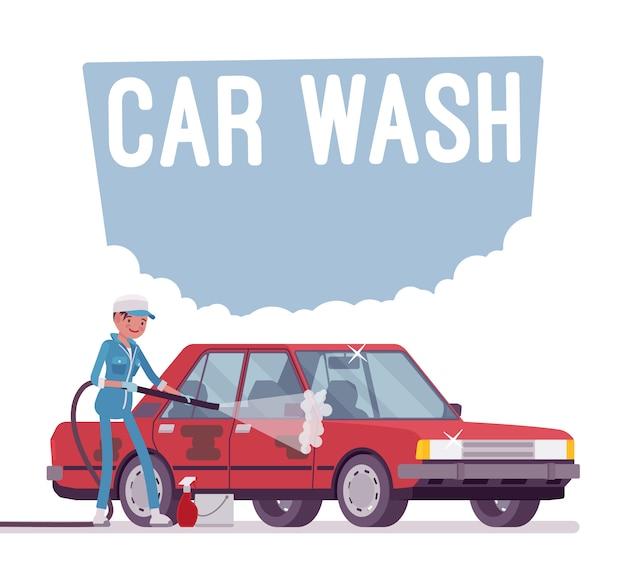 Serviço de lavagem de carro