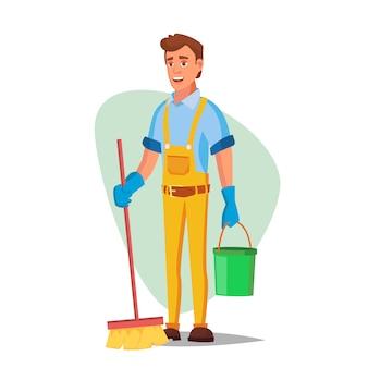 Serviço de limpeza de escritório