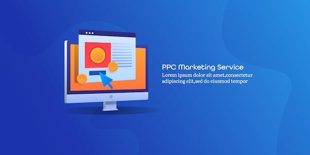 Serviço de marketing ppc