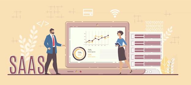 Serviço de software comercial para análise de projetos