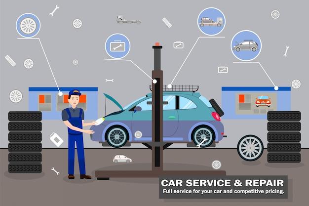 Serviço e reparo automotivo