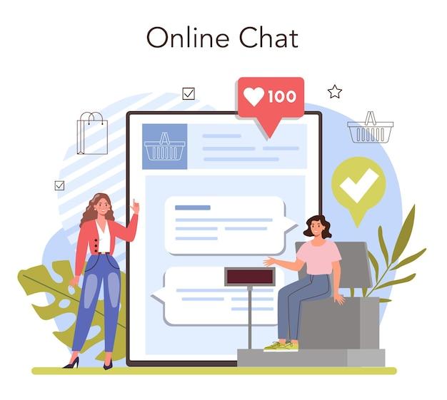 Serviço online de atividades comerciais ou abertura de empreendedor de plataforma