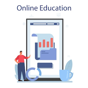 Serviço ou plataforma online de análise de big data de negócios