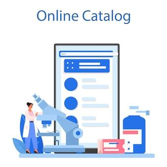 Serviço ou plataforma online de farmácia