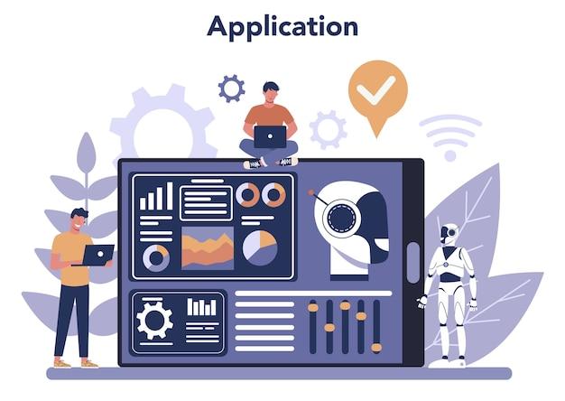 Serviço ou plataforma online de robótica